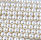 8mm SWAROVSKI® ELEMENTS White Crystal Pearl Beads - 20 pearls for jewellery making, beadwork and craft